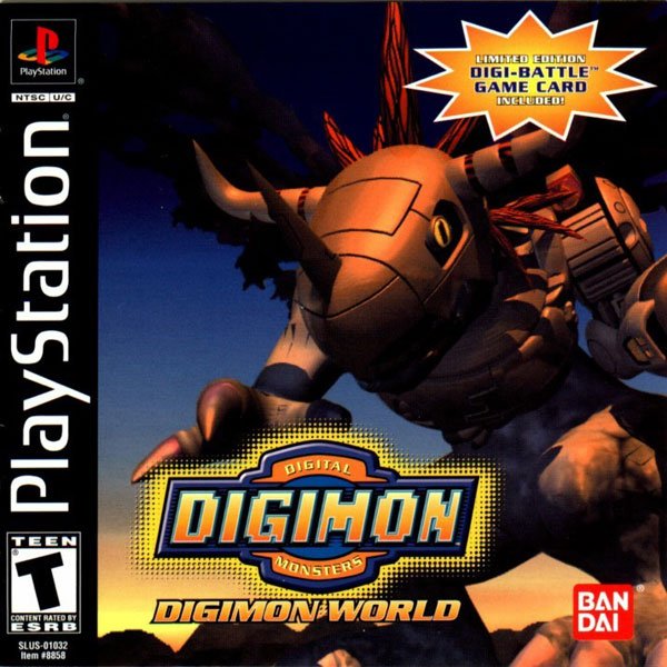 Digimon World [U] Front Cover